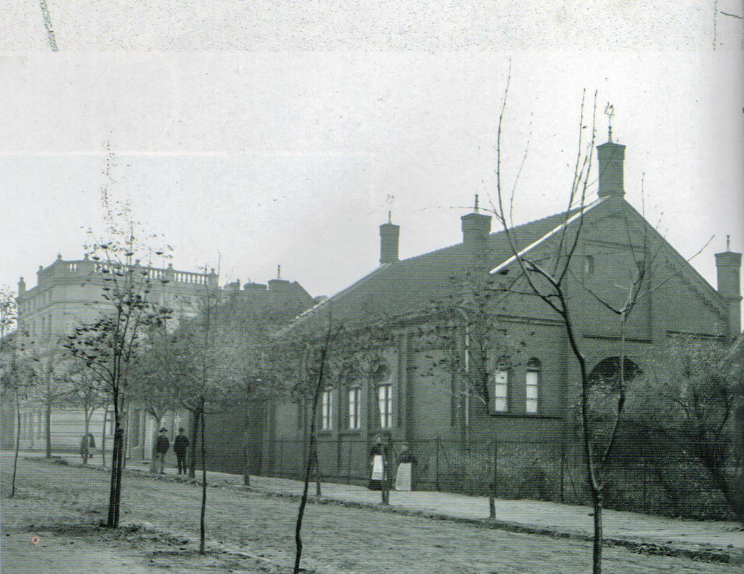 Synagoga giżycka (Synagoga), Giżycko - 1910 rok, stare zdjęcia